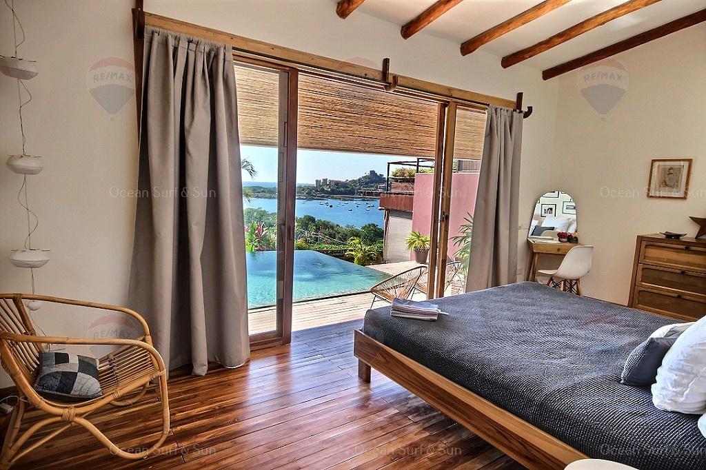 Casa Bahia Sur, ocean view villa, Playa Flamingo, Costa Rica