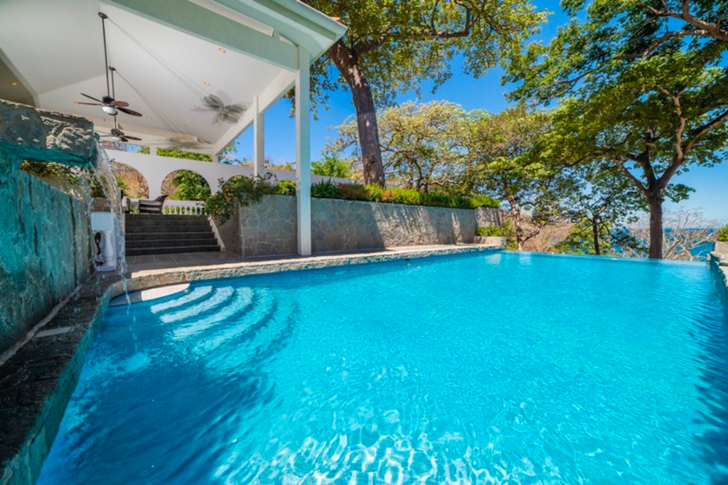Villa-Christopher-ocean-view-beach-front-six-bedrooms-mansion-costa-rica-playa-flamingo-private-beach