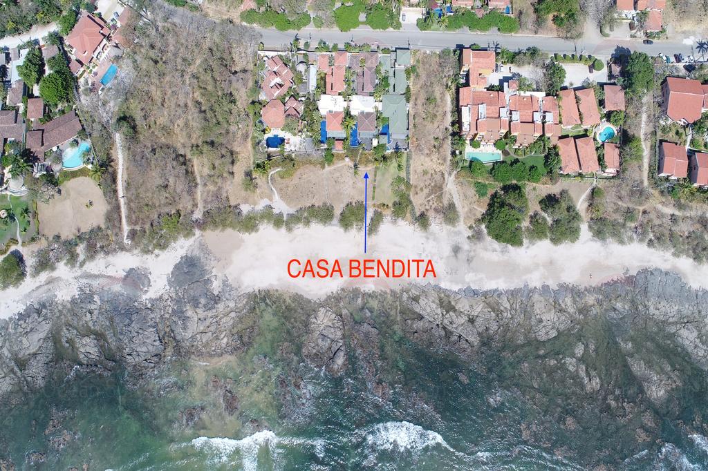 Casa Bendita, oceanfront villa, Playa Langosta, Costa Rica