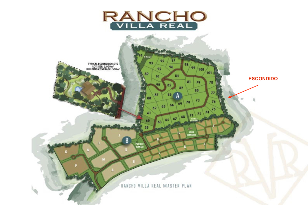 Escondido lot 88, Rancho Villa Real, Costa Rica
