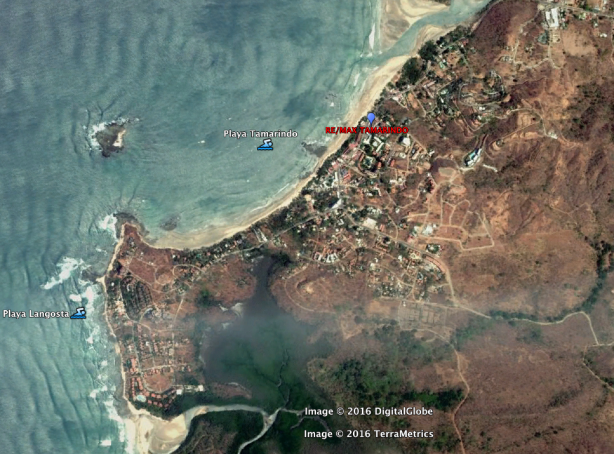 Location of our Remax office in Tamarindo