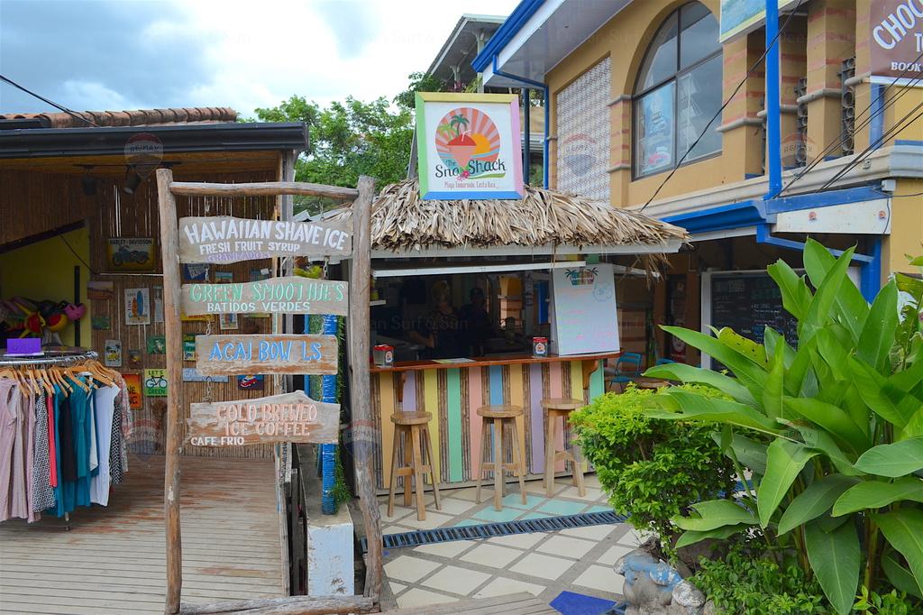 Sno Schack, shaved ice stand, Playa Tamarindo, Costa Rica