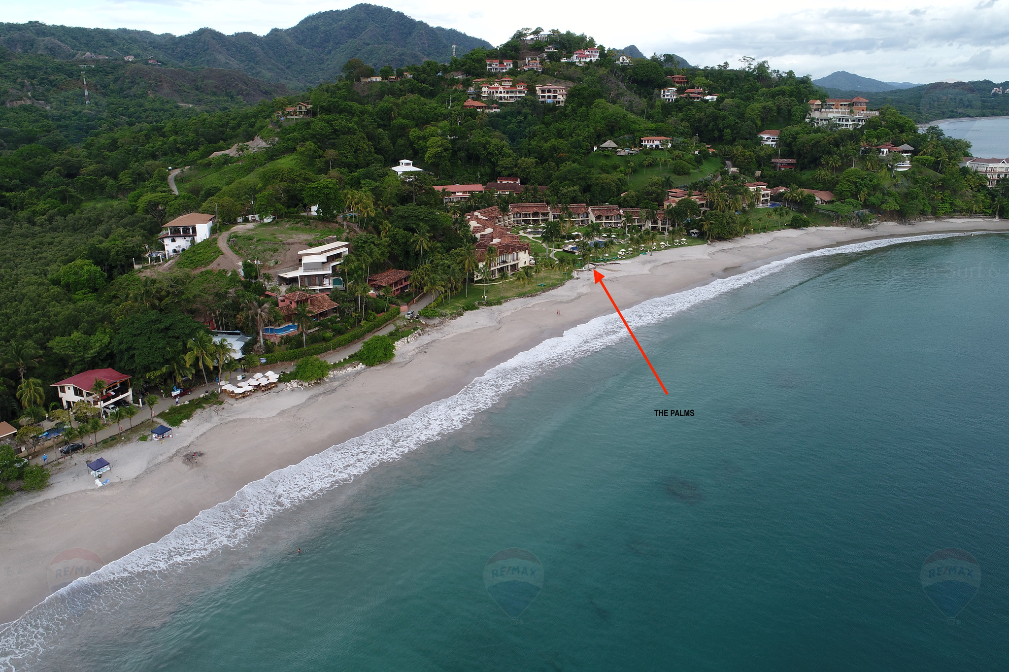 The Palms, beachfront luxury living, Playa Flamingo, Costa Rica
