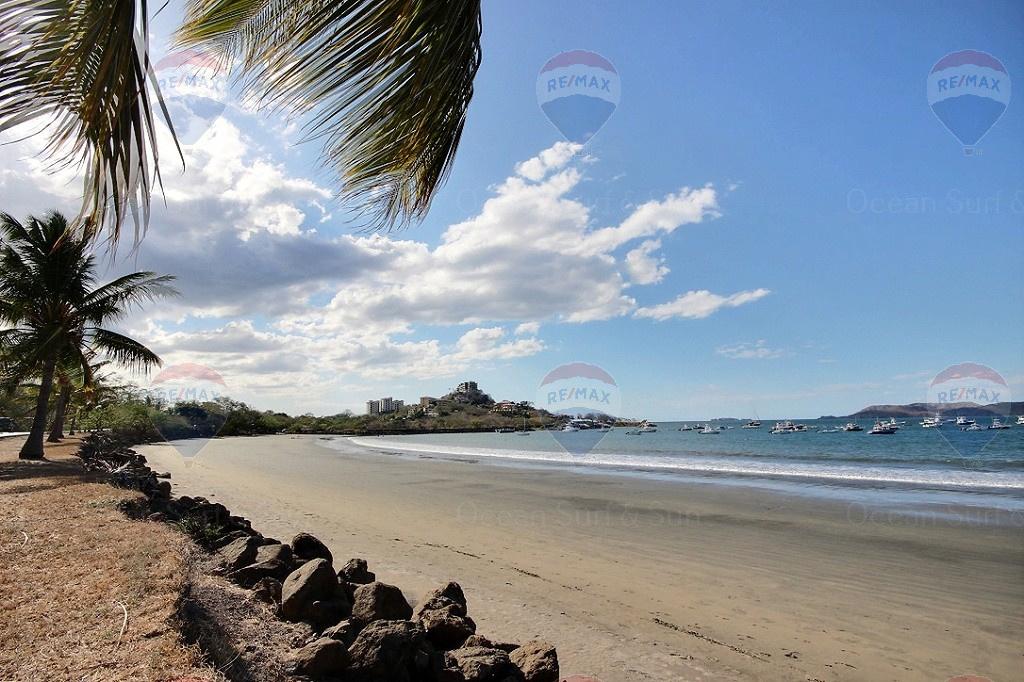 Prime commercial beachfront lot in Playa Flamingo, Costa Rica