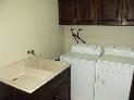 Walk-in Laundry Room with Sink