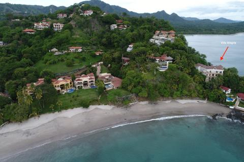 Casa Alegria, oceanfront villa, Playa Flamingo, Costa Rica