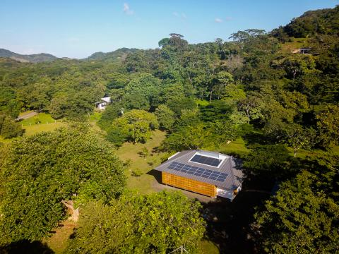 Off the grid home in Playa Grande, Costa Rica