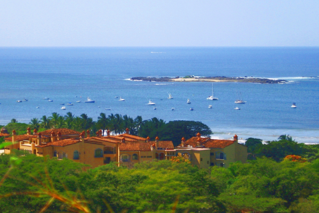 Sunrise condo, Playa Tamarindo, Costa Rica, View Hills