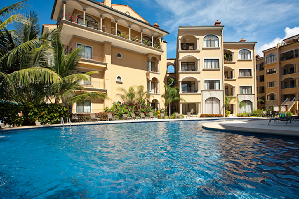 Sunrise condo, Playa Tamarindo, Costa Rica, Pool View