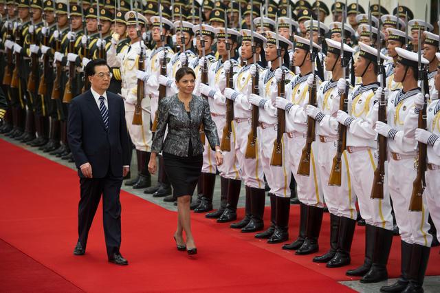 President Laura Chinchilla in China