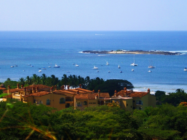 View of Sunrise Condos in Tamarindo