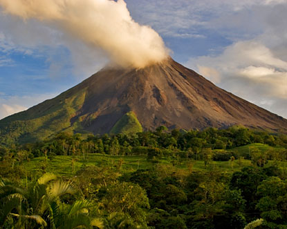 Arenal is a hub of Costa Rica geothermal energy